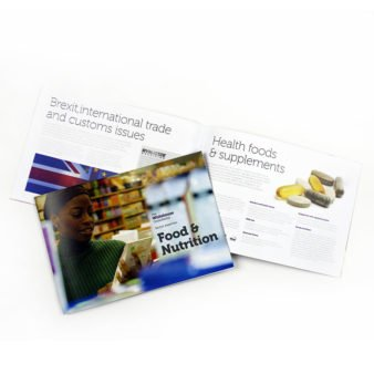 Printed, folded & stapled booklets